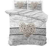 Dreamhouse Bedding Pure Cotton All with Love Dekbedovertrek