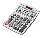 Casio MS-80B calculator Desktop Basisrekenmachine Zilver
