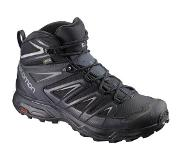 Salomon X ULTRA 3 MID GTXu00c2u00ae Wandelschoenen - Heren - Black / India Ink / Monument