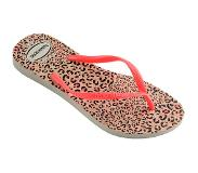 Havaianas Slipper Havaianas Slim Animals White Coralnew-Schoenmaat 35 - 36