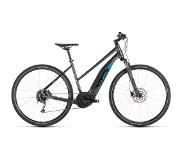 Cube Cross Hybrid One 400 2019 Dames - 50 cm - Iridium/Blue
