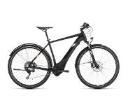 Cube Cross Hybrid Race Allroad 500 2019 Heren - 50 cm - Black/White