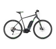Cube Cross Hybrid Pro 400 2019 Heren - 62 cm - Iridium/Green