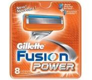 Gillette Fusion Power scheermesjes 8 st