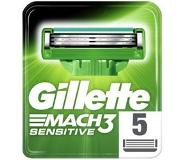 Gillette Mach 3 Power Sensitive Scheermesjes 5 stuks