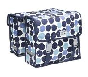 New Looxs NewLooxs 230.192 Dubbele tas Fiori Double 30L Dots blue