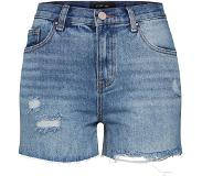 Lost Ink Jeans 'DENIM MOM SHORT CAPITAL RIP'