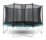 BERG Trampoline BERG Favorit Green 430 + Safety Net Comfort