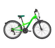 "S'Cool XXlite 24 21-S Steel Kids, neon green 24"" 2019 Kinderfietsen 24 inch"
