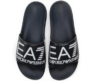 Emporio Armani EA7 sea world slipper navy -44 (blauw, 44)