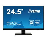 Iiyama LED 24.5'FHD Ultra Slim VGA HDMI DP 1ms Speakers USB