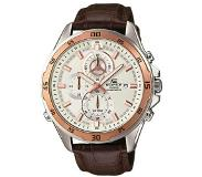 Casio Edifice Chronograaf Led Horloge Bruin