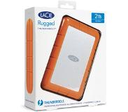 LaCie Rugged Thunderbolt - Externe SSD - 500 GB