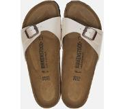 Birkenstock - Madrid - Sportieve slippers - Dames - Maat 43 - Wit - Pearl White Graceful BFGR
