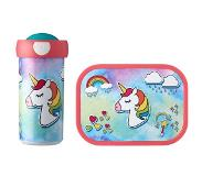 Mepal lunchset Campus (schoolbeker + lunchbox) - unicorn