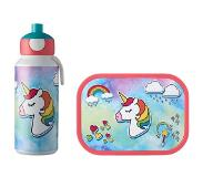 Mepal lunchset Campus (drinkfles + lunchbox) - unicorn