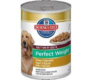 Hill's Pet Nutrition perfect weight canine adult hondenvoer 363 gr