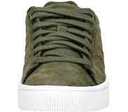 K-swiss Court Frasco groen goud sneakers dames - Maat 38