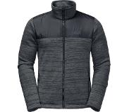 Jack Wolfskin Aquila Fleece vest - Heren - dark iron