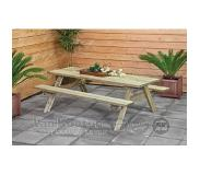 Tuindeco Picknicktafel Basis 180 cm