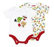 Fisher-Price Fisher Price Romper met Lange Mouwen, 2st.