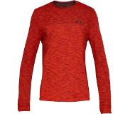 Under Armour Vanish Seamless LS Sportshirt Heren - Radio Red - Maat M