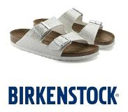 Birkenstock Arizona Magic Snake White Slippers Dames - Maat 40