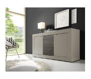 Benvenuto Design Modena Dressoir Small HG Wit/Antraciet