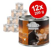 Wild Freedom 24x200g Adult - Wide Country - Pure Kip Wild Freedom Kattenvoer