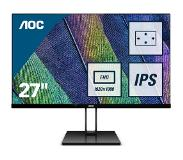 "AOC Value-line 27V2Q computer monitor 68,6 cm (27"") Full HD LED Flat Mat Zwart"