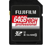 Fujifilm 64GB SDXC High Professional UHS-II U3 Class 10 285MB/s