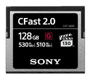 Sony CFast 128GB G-series 530mb/s geheugenkaart