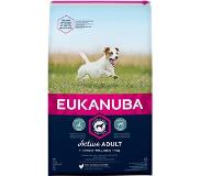 Eukanuba Dog Adult - Small Breed - Kip - Hondenvoer - 12 kg