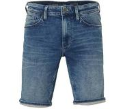 C&A The Denim regular fit denim jeans short middenblauw 38