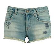 America Today Junior jeans short Nada met borduursels Stonewashed 110/116