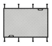 Thule Transport Trail Load Net M