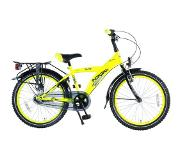 Volare Kinderfietsen Thombike City N3 Speed 20 inch Neon Yellow
