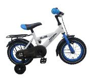 Volare Kinderfietsen Thombike 95% 12 inch White Blue