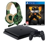 Sony PlayStation 4 500GB + CoD Black Ops 4 + Trust GXT 310