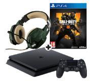 Sony PlayStation 4 500GB + CoD Black Ops 4 + Trust GXT 322C