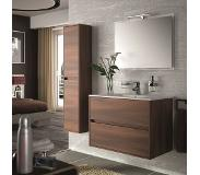 Muebles Project badmeubel brown acacia 90cm