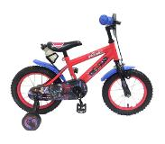 Spiderman Ultimate Spider-Man Kinderfiets - Jongens - 14 inch - Rood Zwart