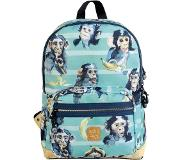Pick & Pack Cute Chimpanze Backpack M blue green