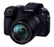Panasonic Lumix DMC-G7HEG-K + 14-140mm - Zwart