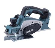 Makita Accuschaafmachine Zonder accu Schaafbreedte: 82 mm 18 V Makita DKP180Z