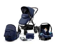 Kinderkraft Kinderwagen Moov 3 in 1 Navy (incl. autostoel) (Levering half december)