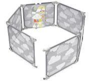 Skip-Hop Playview Expandable Enclosure Grey/Clouds