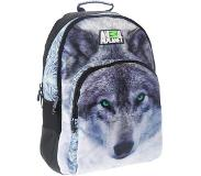 Animal planet Wolf rugzak - 44 x 32 x 20 cm - polyester
