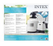 Intex Krystal Clear Zandfilterpomp 10.000 l/u