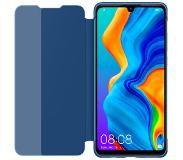 Huawei P30 Lite View Flip Cover Book Case Blauw